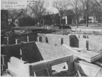 Post Office Construction, Looking Northwest
