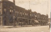 Broad St. North from Commercial, Grinnell, IA  -12-