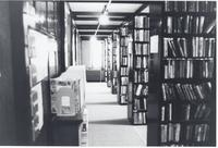 Library Stacks in Stewart Library