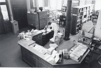 Circulation Desk at Stewart Library