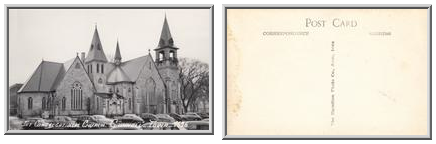 The Congregational Church -- Grinnell, Iowa -- 9636