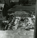 Younker Hall construction