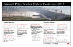 Peace Studies Conference Poster 2012