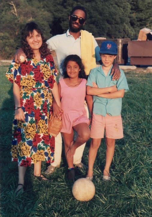 Dartanyan and family in Berkeley