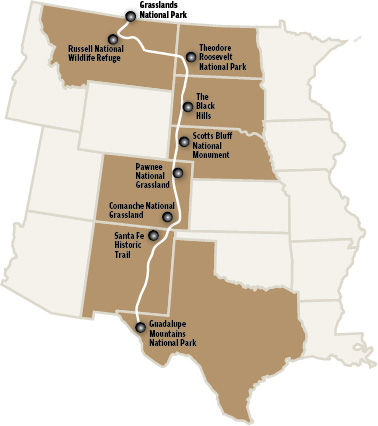 Great Plains Trail Map courtesy of the [Rapid City Journal](https://rapidcityjournal.com/)