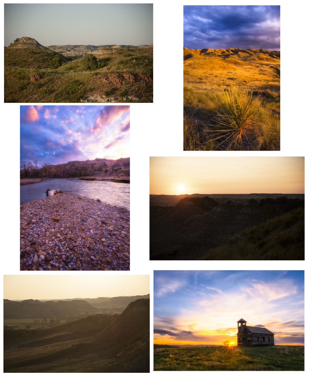 Untitled images by Graeme Thompson (upper left, middle right, lower left) and Chris McGowan (upper right, lower right, middle left)