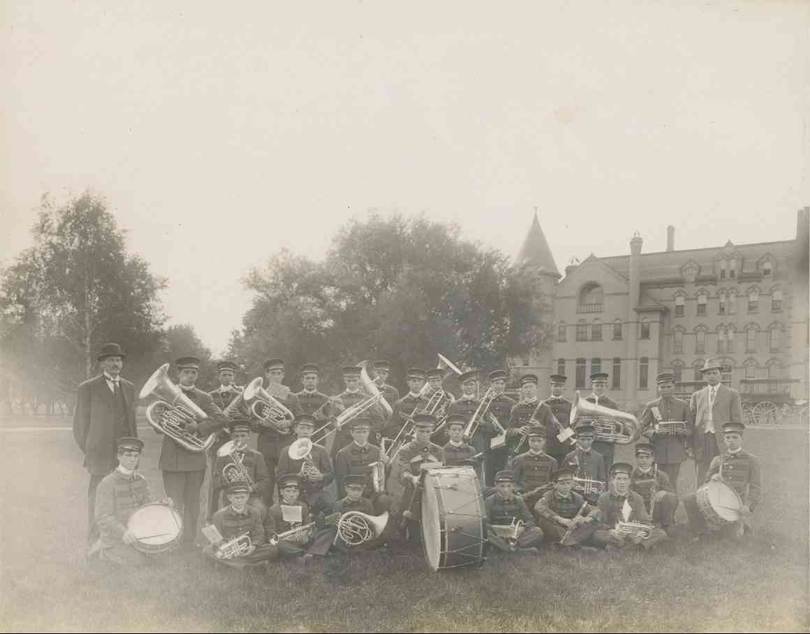 'I have worked in the laundry, or I have played in the band.' The Iowa Industrial School for Boys' Band in an undated photograph, courtesy of [Iowa's Town Bands, 1890-1930.](http://iowastownbands.com/e1x-eldoraindust.html)